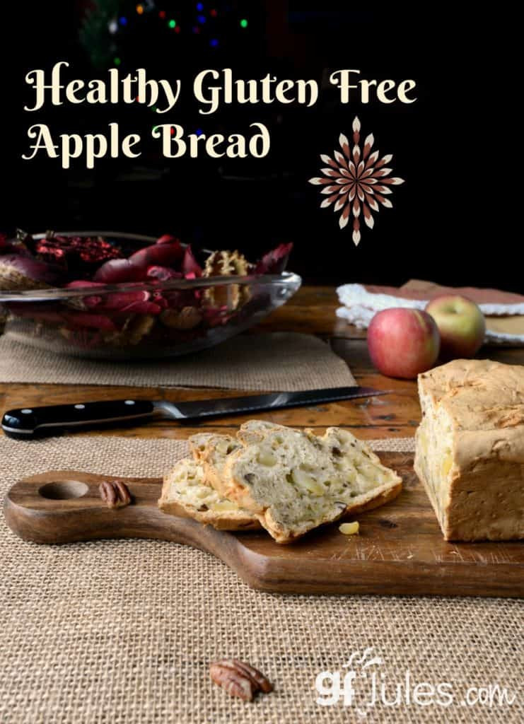 Healthy Gluten Free Bread  Gluten Free Apple Bread Recipe made with 1 rated gfJules