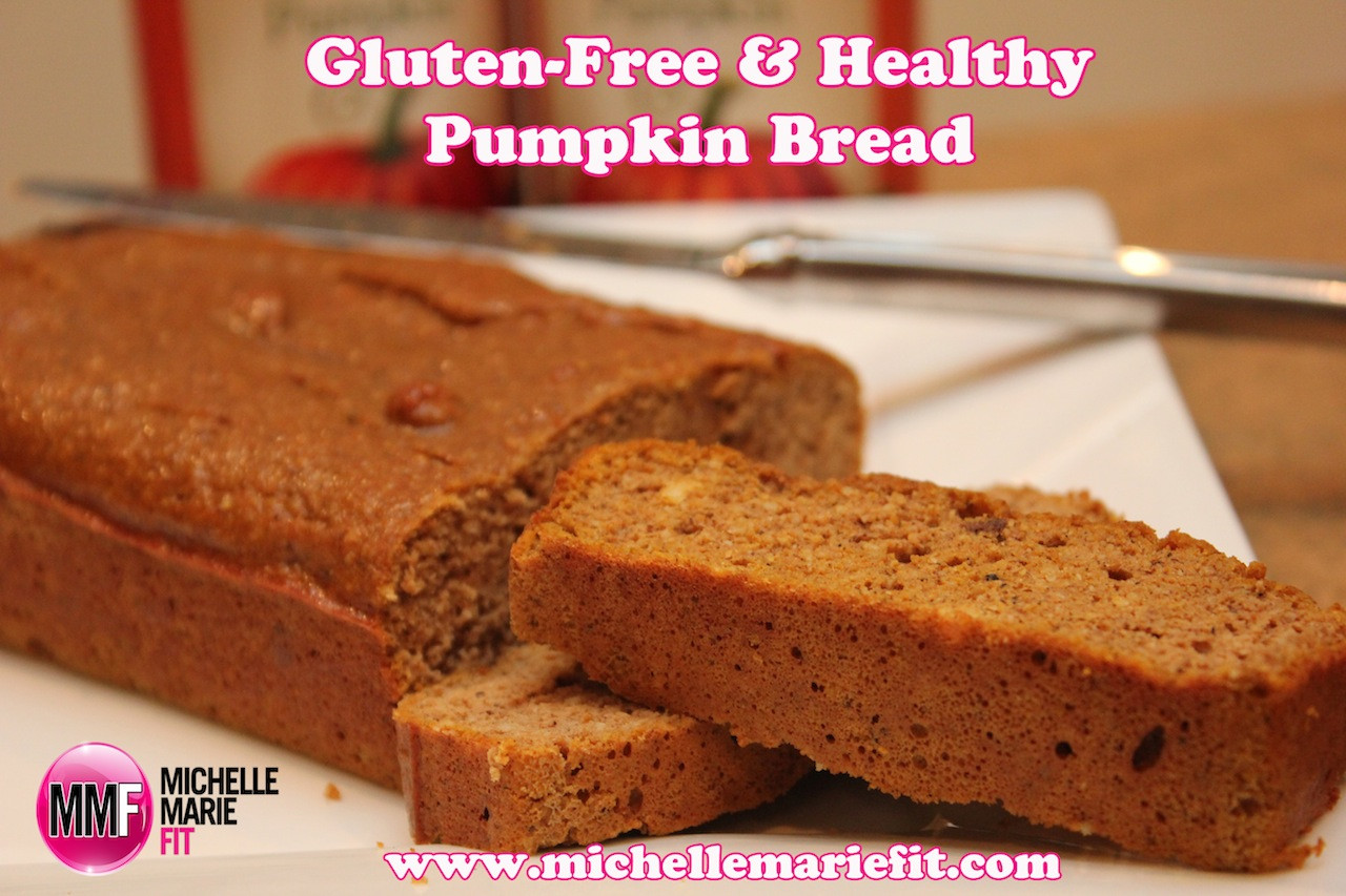 Healthy Gluten Free Bread  Gluten Free Healthy Pumpkin Bread Michelle Marie Fit