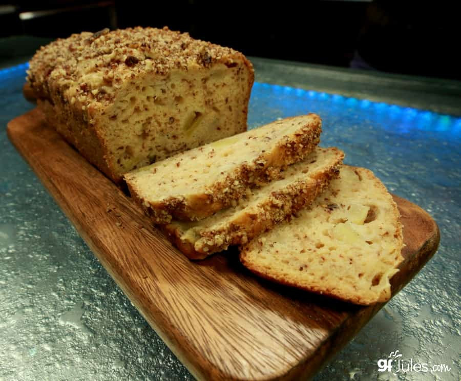 Healthy Gluten Free Bread  Healthy Gluten Free Apple Bread soft & moist w gfJules
