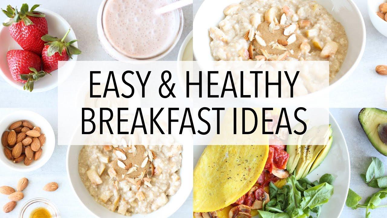 Healthy Gluten Free Breakfast  3 breakfast ideas healthy gluten free recipes for weight