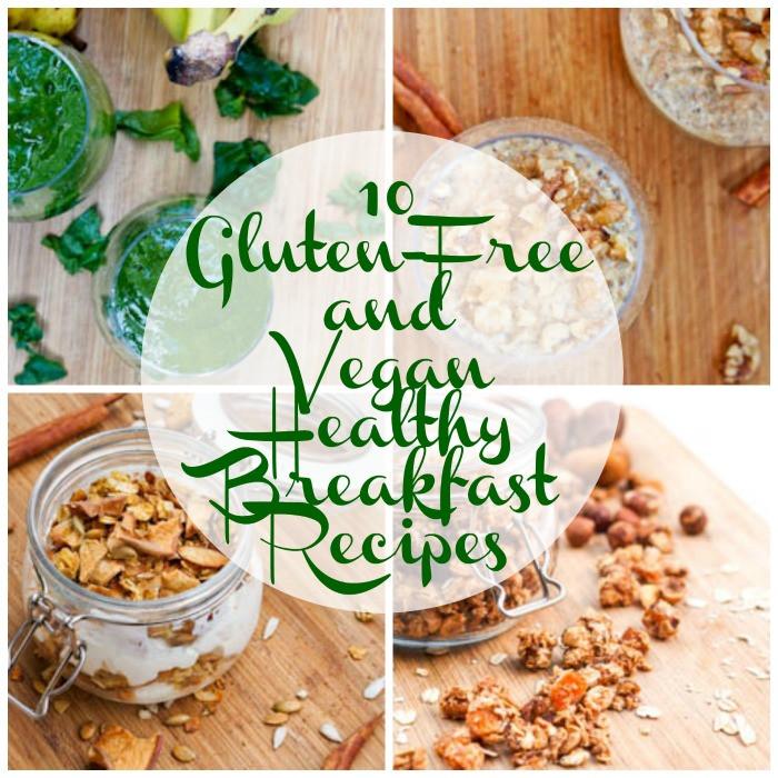 Healthy Gluten Free Breakfast Ideas  vegan gluten free breakfast recipes