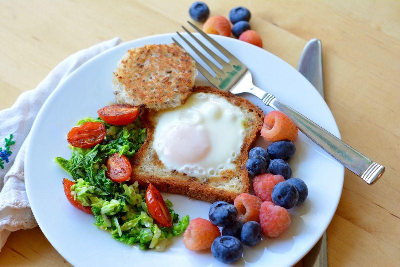 Healthy Gluten Free Breakfast  Looking for a Healthy Gluten Free Breakfast Try Egg in a