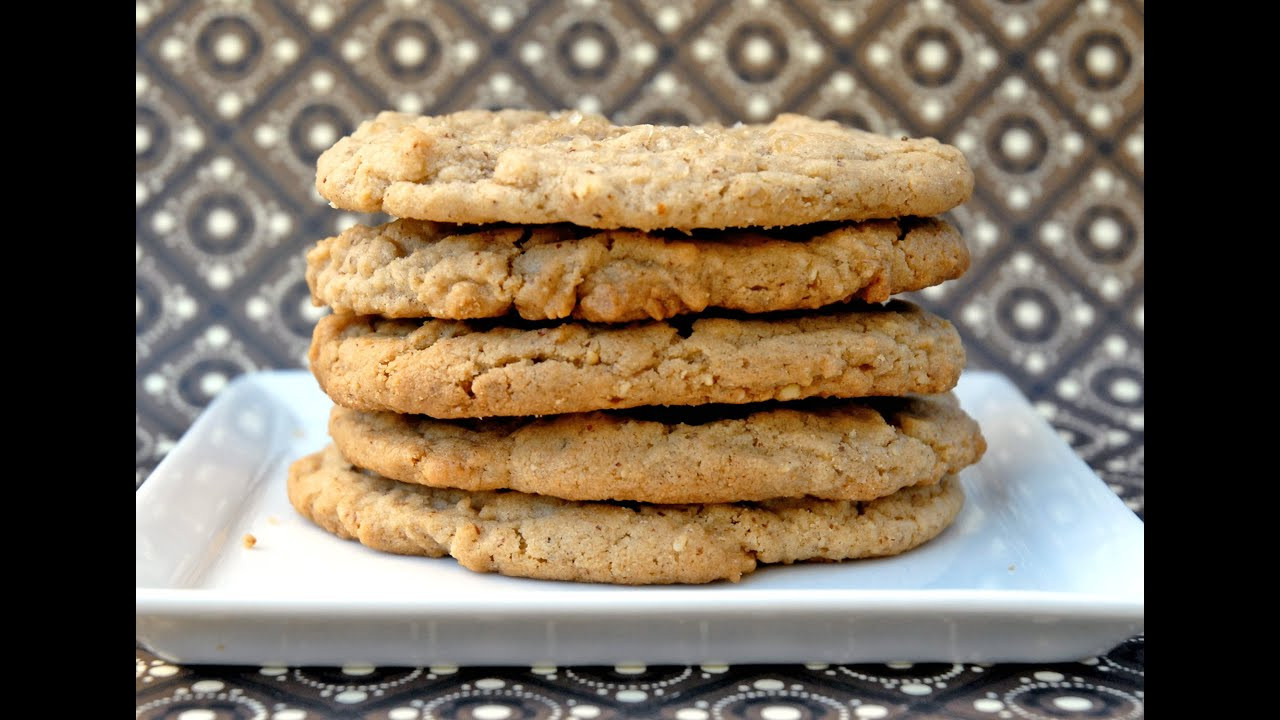 Healthy Gluten Free Cookie Recipes  Protein Almond Butter Cookies Recipe HASfit Gluten Free