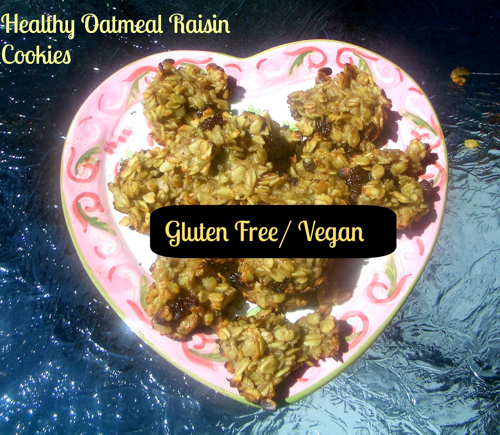 Healthy Gluten Free Oatmeal Cookies  Gluten Free A Z Healthy Oatmeal Raisin Cookies