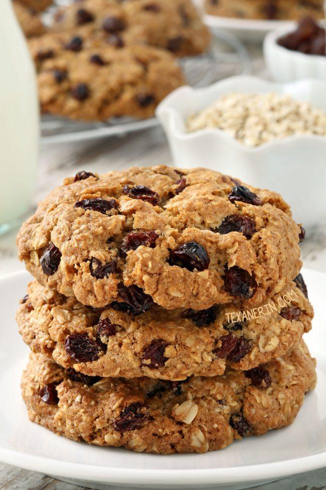 Healthy Gluten Free Oatmeal Cookies  Gluten free Oatmeal Cookies dairy free Texanerin Baking