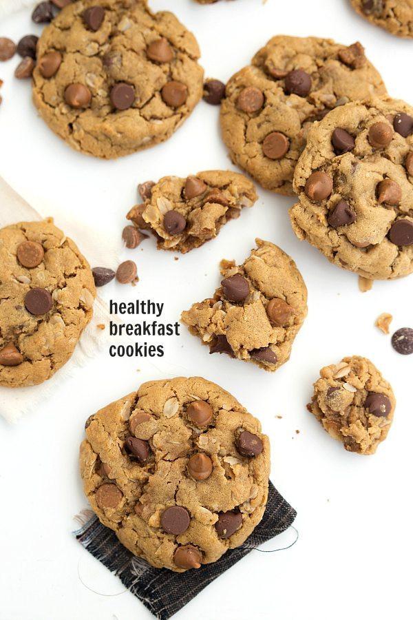 Healthy Gluten Free Oatmeal Cookies  Healthy Oatmeal Breakfast Cookies Chelsea s Messy Apron