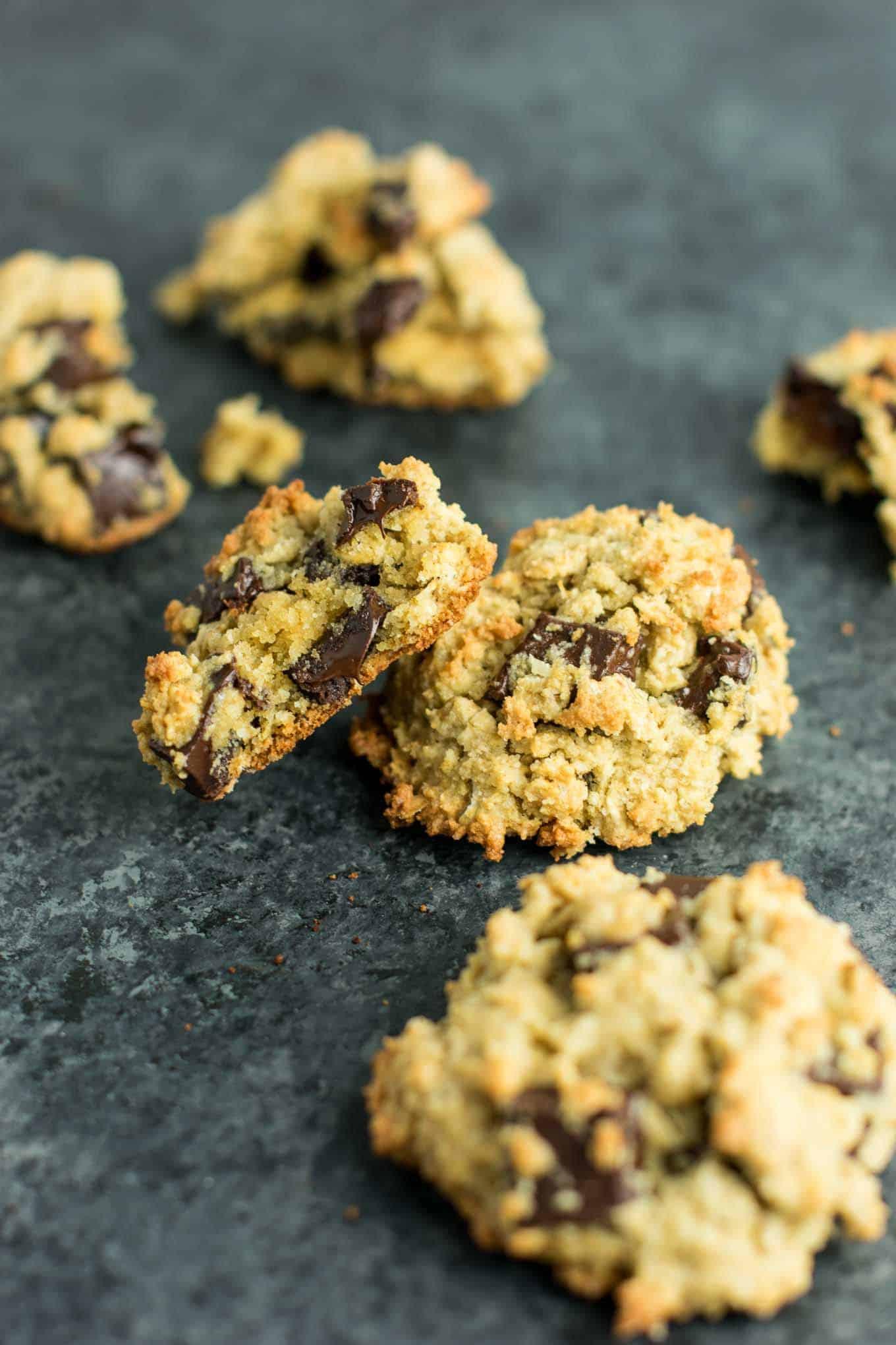 Healthy Gluten Free Oatmeal Cookies  healthy oatmeal chocolate chip cookies gluten free