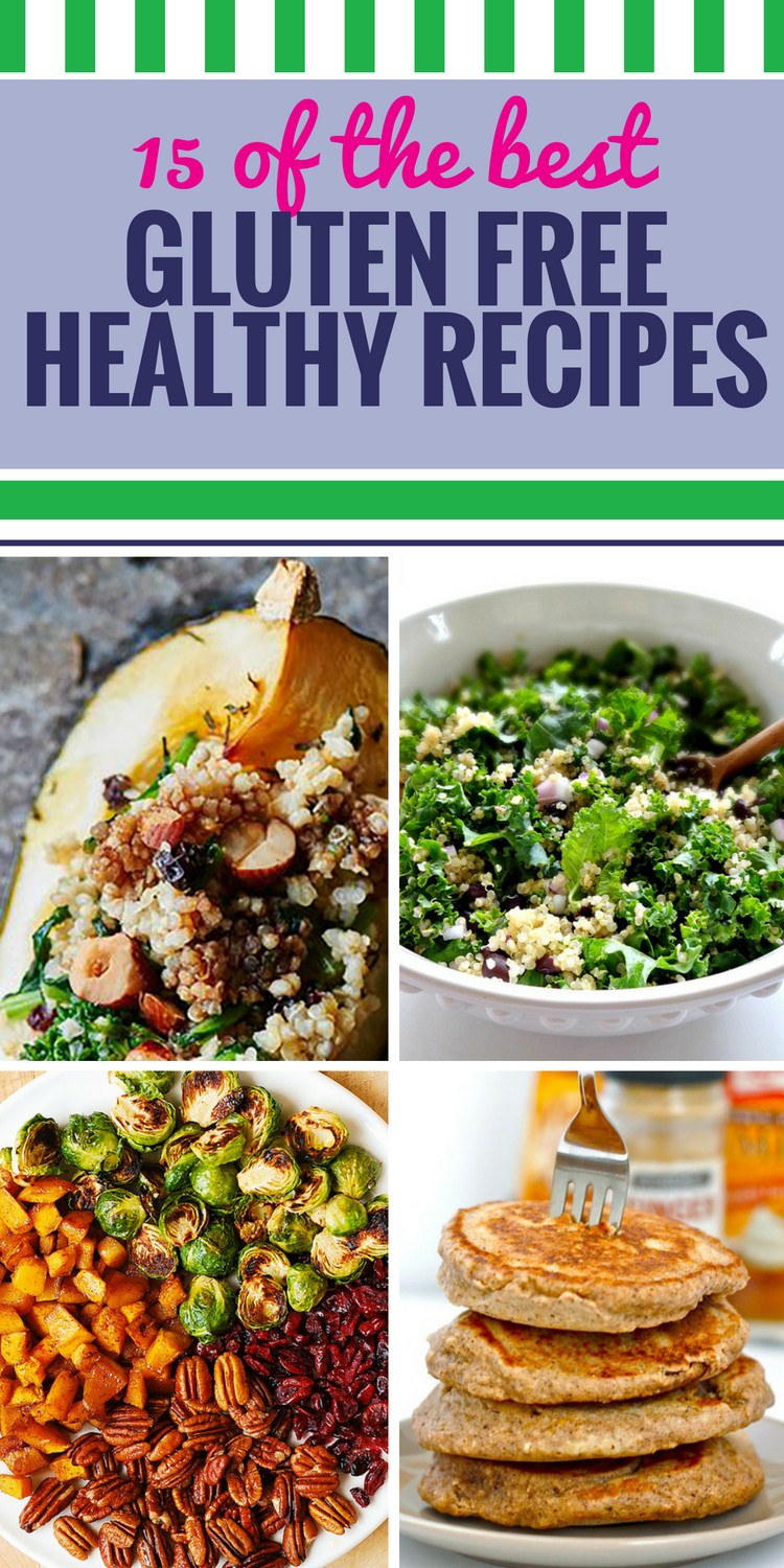 Healthy Gluten Free Recipes  15 Gluten Free Healthy Recipes My Life and Kids