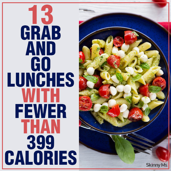 Healthy Grab And Go Lunches  13 Grab & Go Low Calorie Lunches