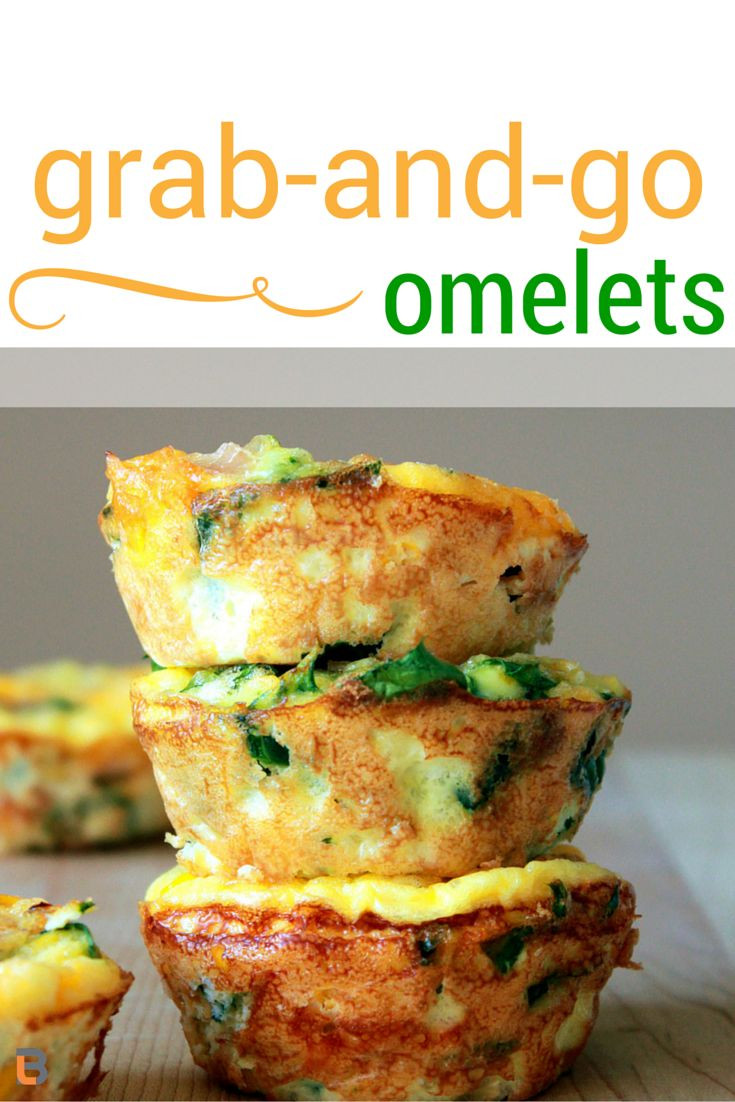 Healthy Grab And Go Lunches  Easy Grab and Go Omelets