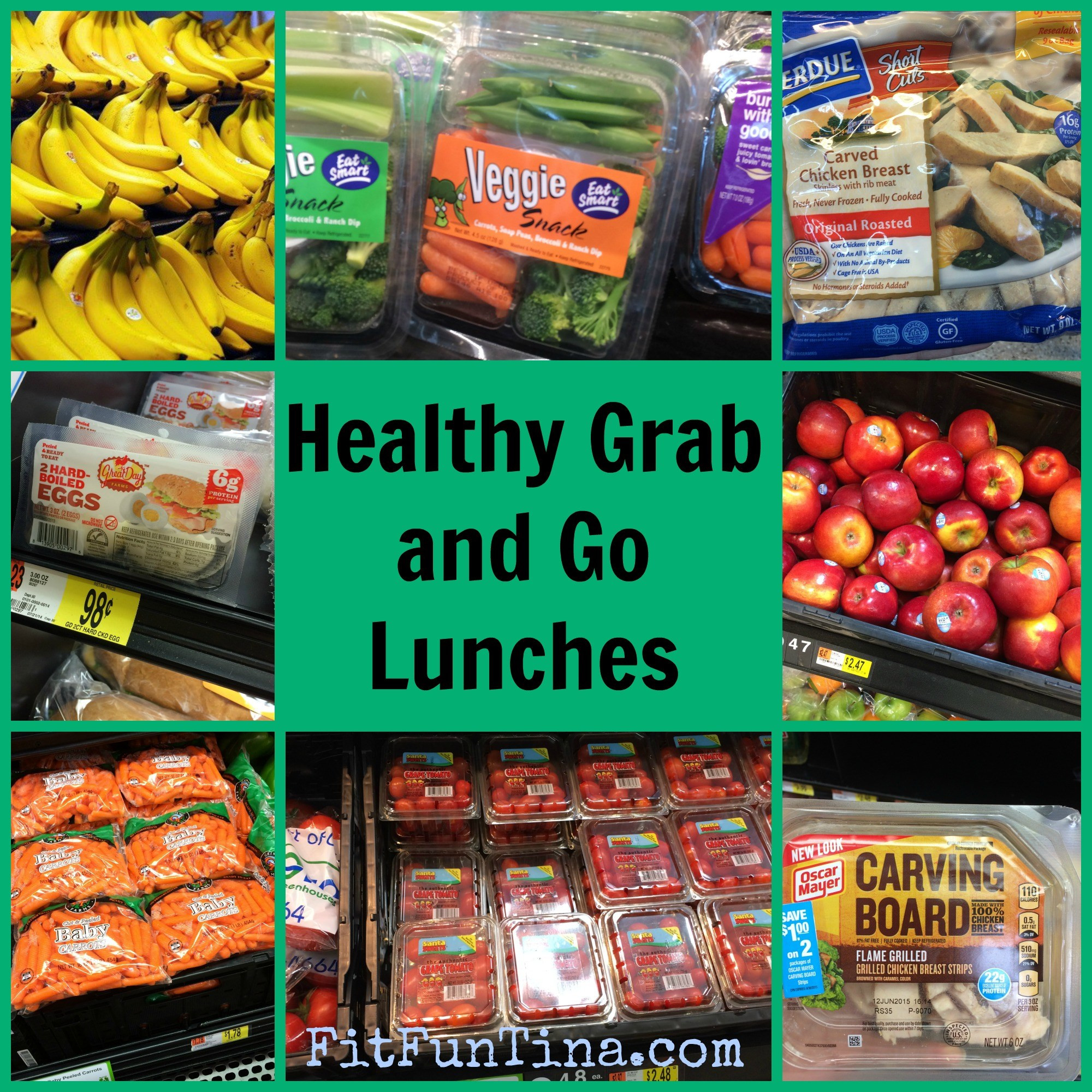 Healthy Grab And Go Lunches  Healthy Grab and Go Lunches Fit Fun Tina