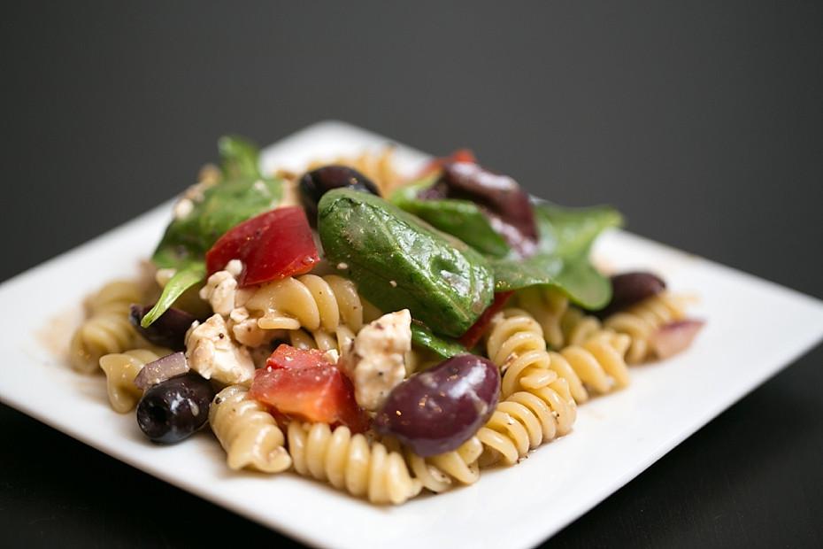 Healthy Greek Pasta Salad  Greek Pasta Salad Healthy Picnic Recipes Christy Tyler