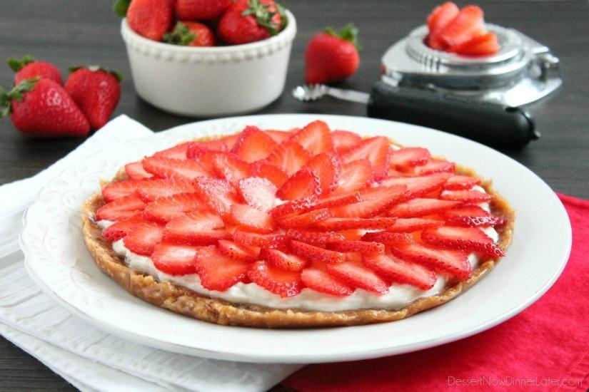 Healthy Greek Yogurt Dessert Recipes  Strawberry Greek Yogurt Tart