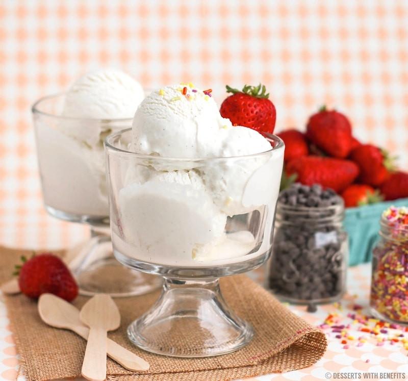 Healthy Greek Yogurt Dessert Recipes  Healthy Vanilla Bean Greek Frozen Yogurt Recipe