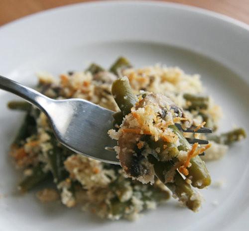 Healthy Green Bean Casserole  Healthy Green Bean Casserole Recipe
