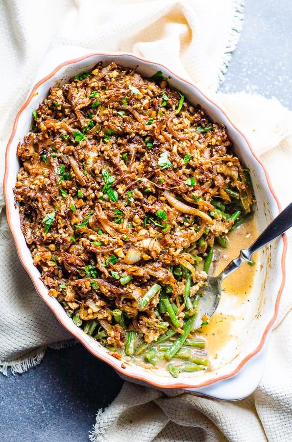 Healthy Green Bean Recipes  Healthy Green Bean Casserole iFOODreal Healthy Family