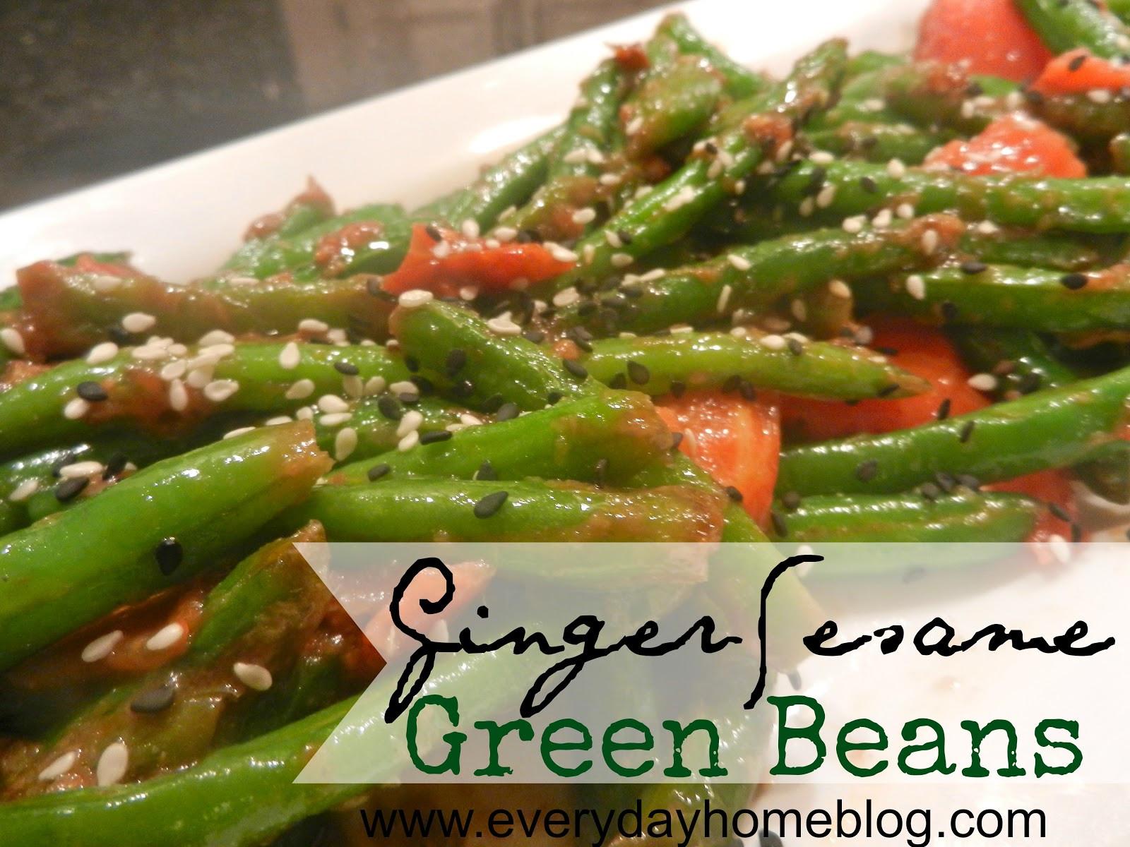 Healthy Green Bean Recipes  Healthy Green Bean Recipe Tasty Tuesday The Everyday Home