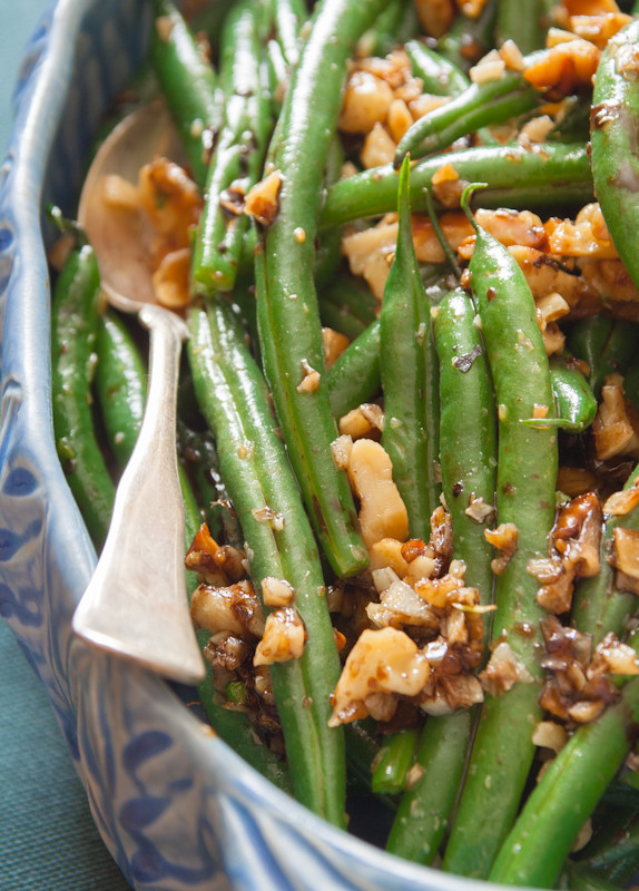 Healthy Green Bean Recipes  green beans with walnuts and balsamic Healthy Seasonal