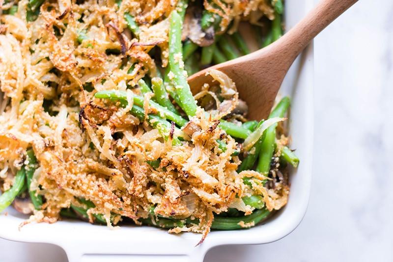 Healthy Green Bean Recipes  low calorie healthy green bean casserole