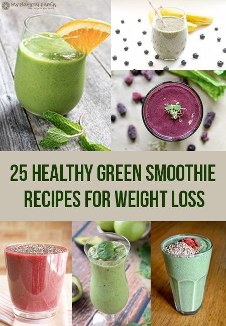 Healthy Green Smoothie Recipes For Weight Loss  How to make healthy smoothies at home to lose weight No