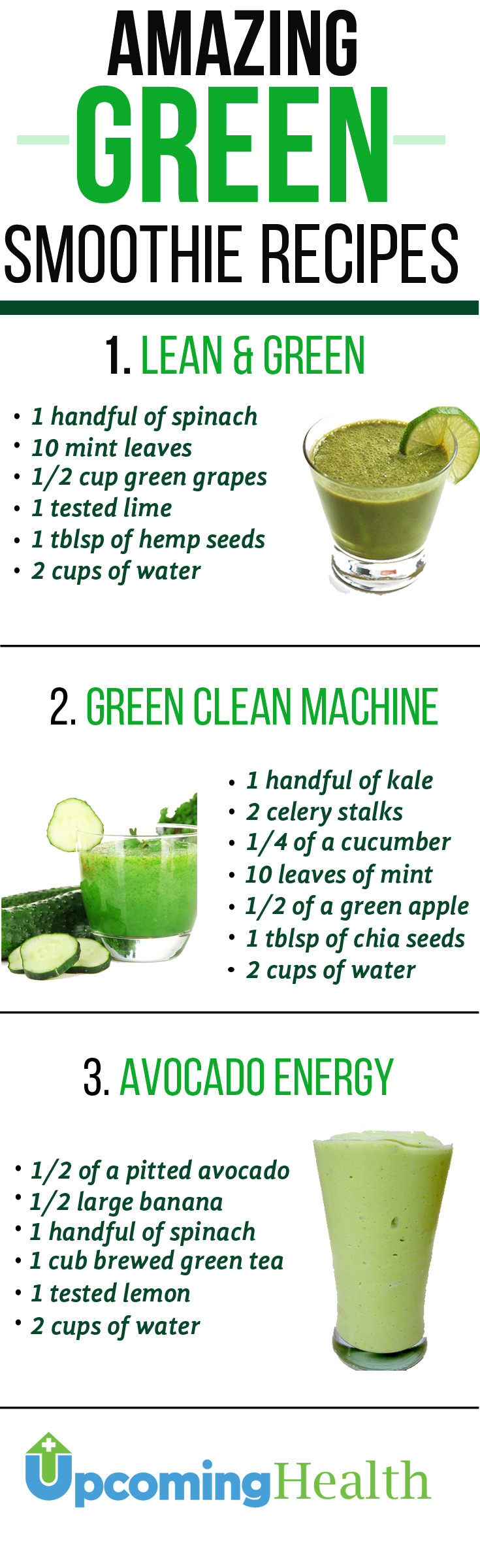 Healthy Green Smoothie Recipes  Green Smoothies Will Revolutionize Your Health