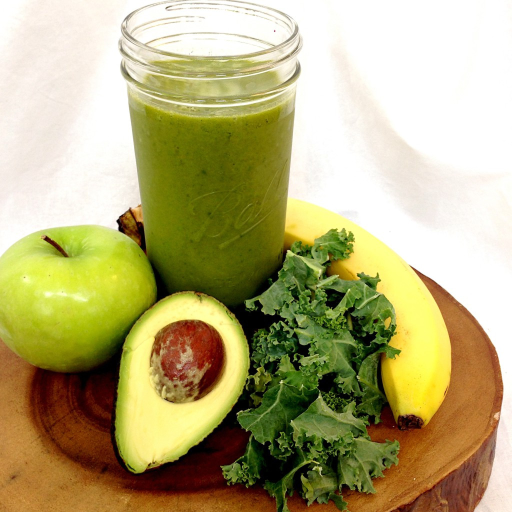 Healthy Green Smoothies  Creamy Green Smoothie — My Healthy Dish