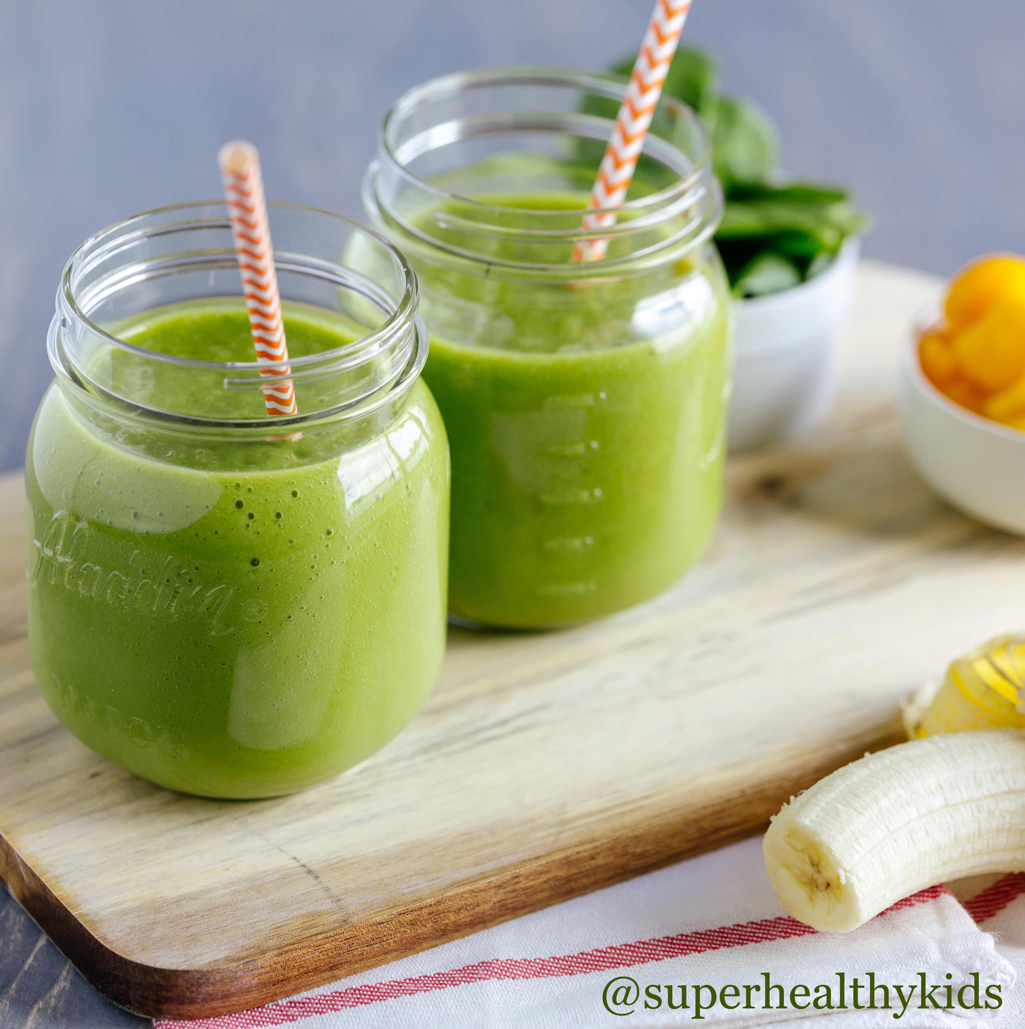 Healthy Green Smoothies  Smoothie Recipes Green Smoothie Kids