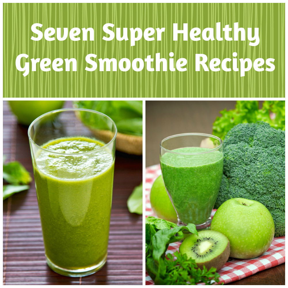 Healthy Green Smoothies  Seven Nutribullet Green Smoothies All Nutribullet Recipes