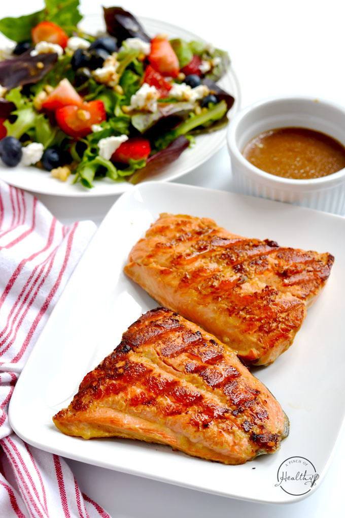 Healthy Grilled Dinners  Easy Grilled Salmon Grill Pan A Pinch of Healthy