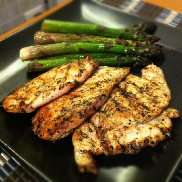 Healthy Grilled Dinners  My Go To Healthy Dinner – Grilled Chicken and Asparagus