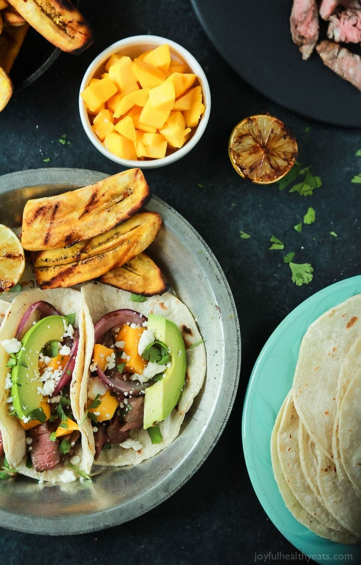 Healthy Grilled Dinners  Grilled Steak Street Tacos