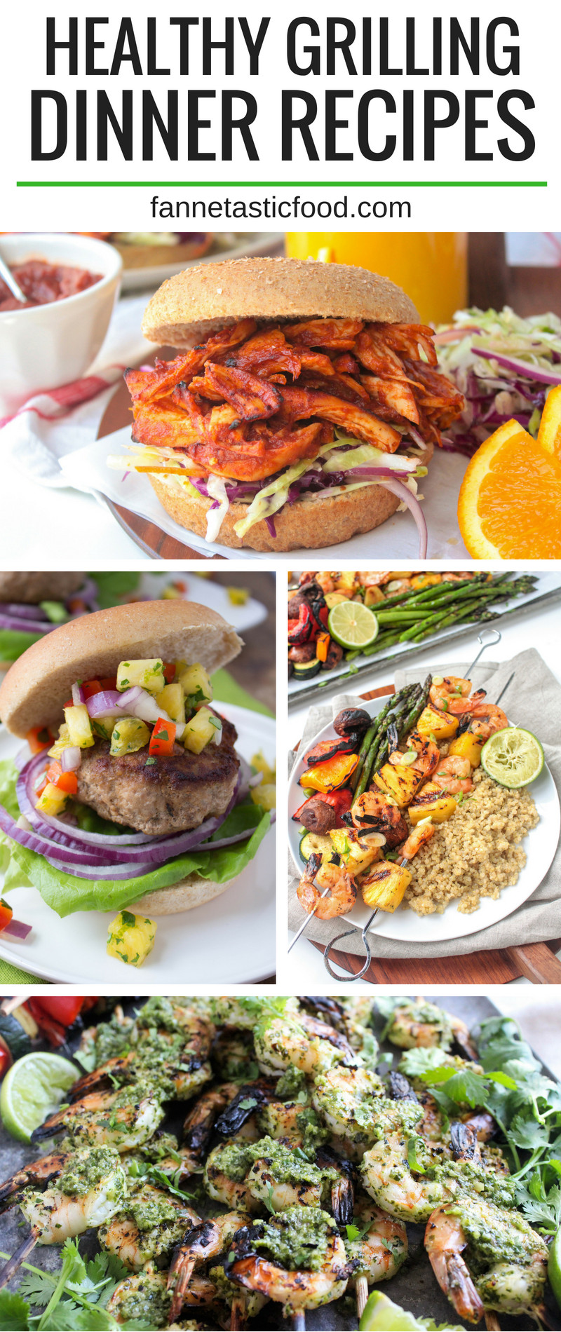 Healthy Grilled Dinners  Healthy Grilling Dinner Recipes fANNEtastic food