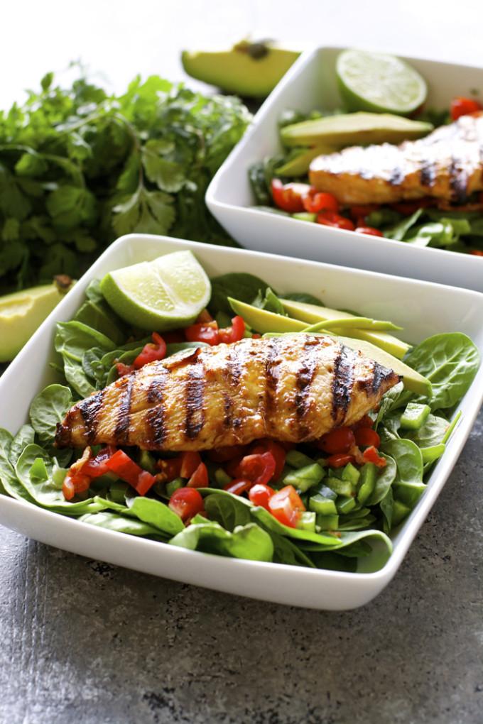 Healthy Grilled Dinners  Healthy Meal Plan Week 15