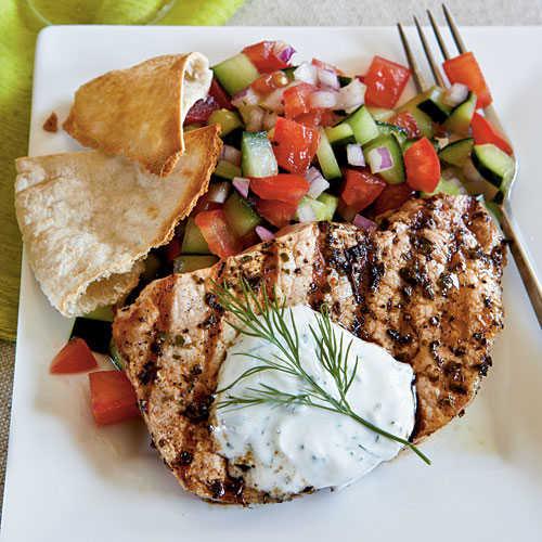 Healthy Grilled Pork Chops  Greek Style Pork Chops Healthy Pork Chop Recipes