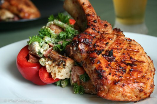 Healthy Grilled Pork Chops  Five Healthy Summer Time Cook Out Ideas Top