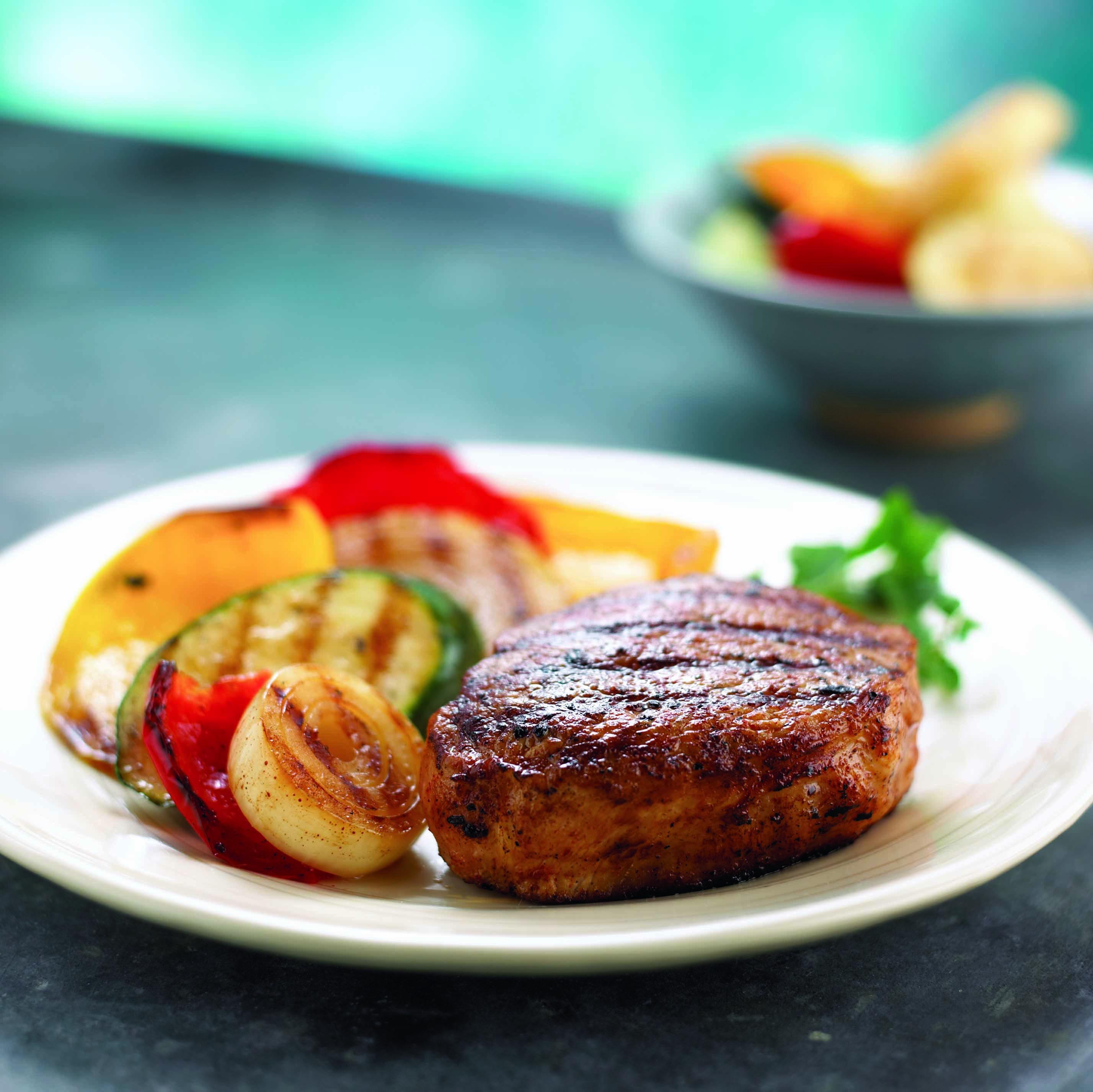 Healthy Grilled Pork Chops  Garlic Soy Grilled Pork Chops South Beach Diet Healthy