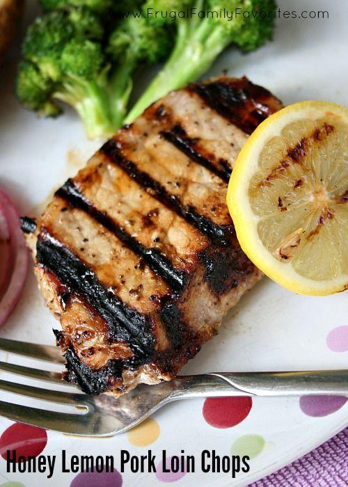 Healthy Grilled Pork Chops  Lemon Honey Pork Chops with Healthy Salt Alternative