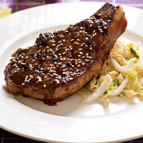 Healthy Grilled Pork Chops  Barbecued Pork Chops Healthy Pork Chop Recipes Cooking