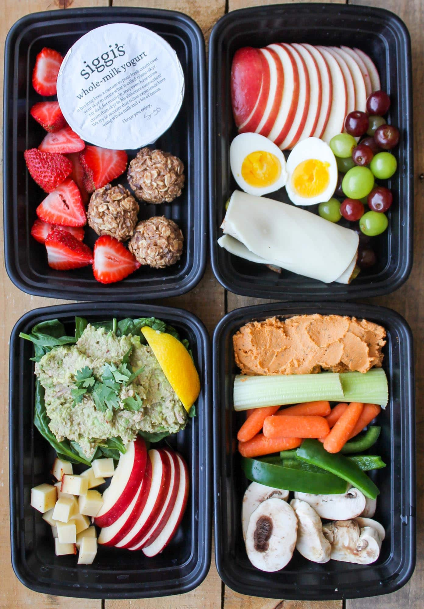 Healthy Grocery Snacks  4 Healthy Snack Box Ideas Smile Sandwich