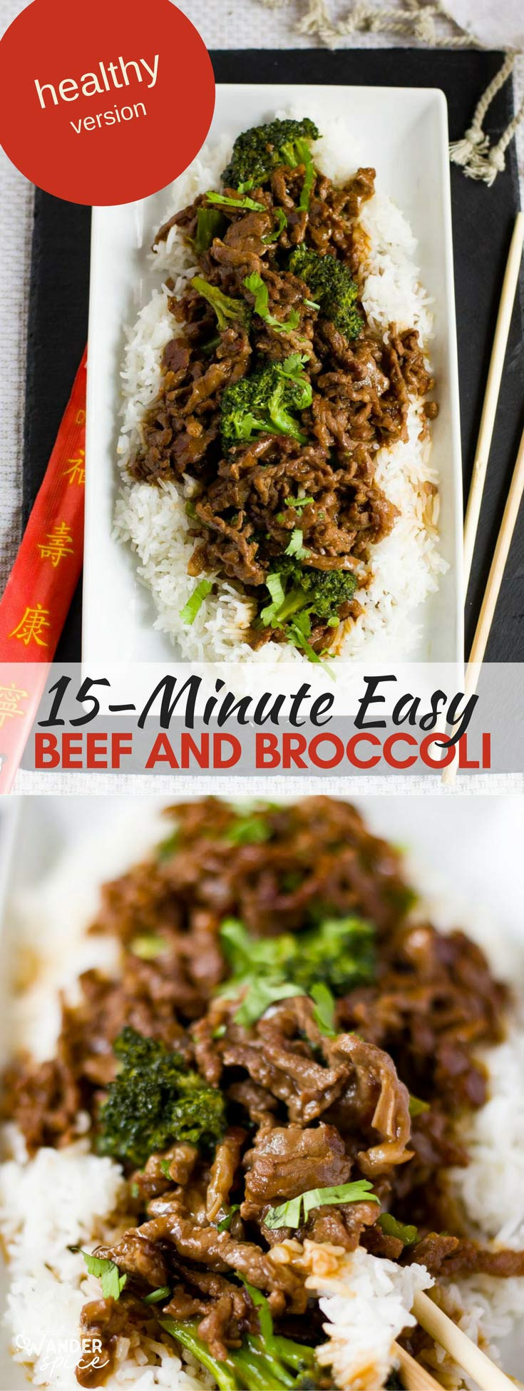 Healthy Ground Beef And Broccoli Recipe  Healthy Beef and Broccoli [Organic] – Wanderspice