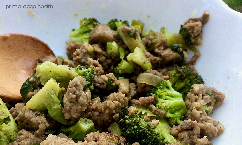 Healthy Ground Beef And Broccoli Recipe  Healthy Choice Beef And Broccoli Nutrition Facts
