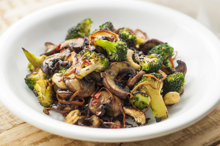 Healthy Ground Beef And Mushroom Recipes  Broccoli and Mushroom Stir Fry
