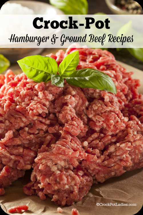 Healthy Ground Beef Crock Pot Recipes  crockpot ground beef recipes