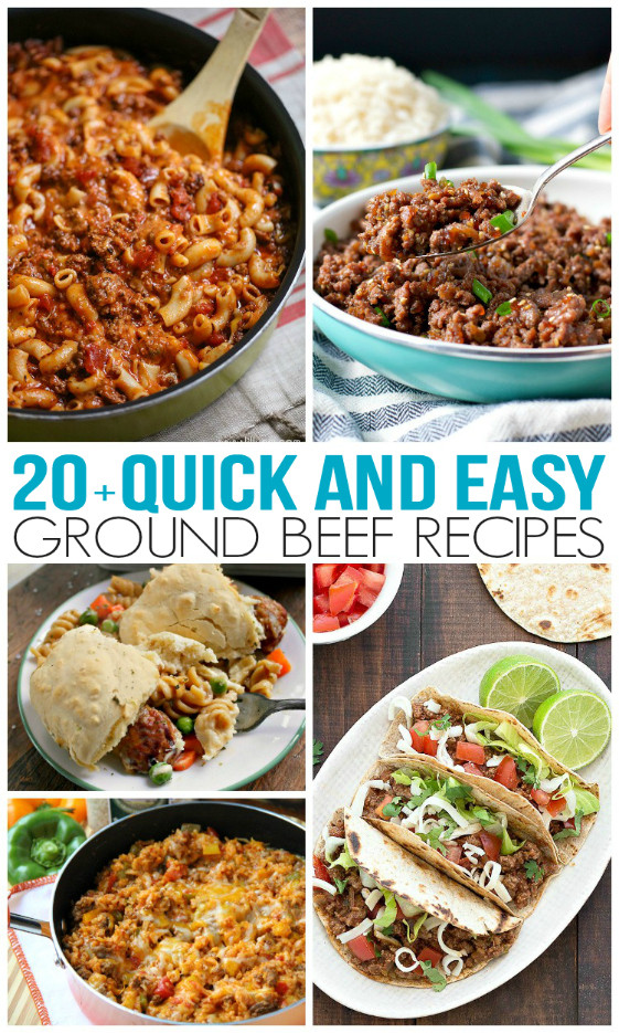 Healthy Ground Beef Recipes Quick Easy  Quick and Easy Ground Beef Recipes Family Fresh Meals