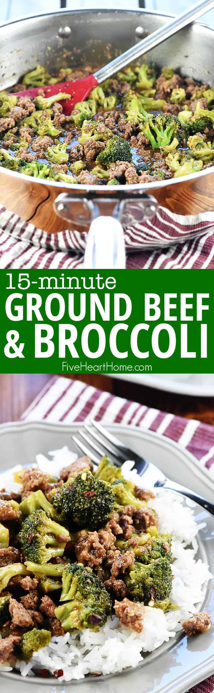 Healthy Ground Beef Recipes Quick Easy  Ground Beef and Broccoli