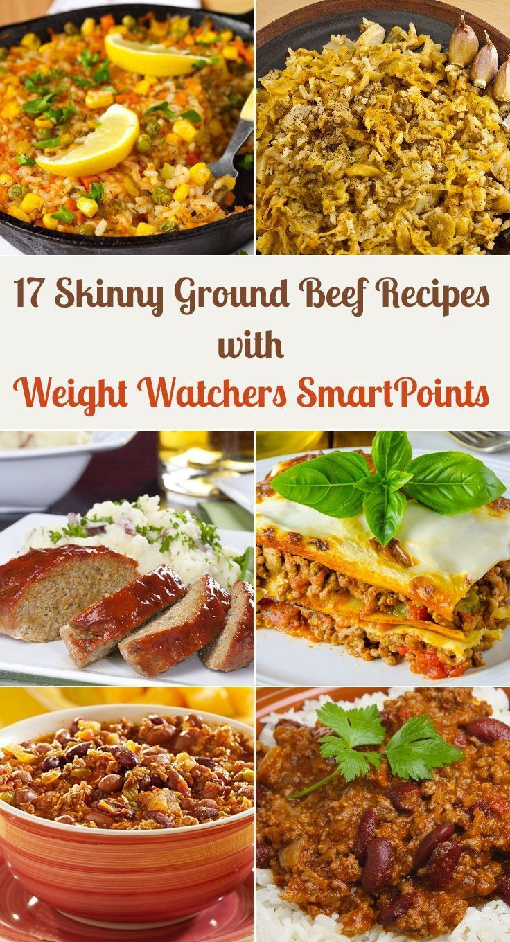Healthy Ground Beef Recipes Weight Watchers  17 Skinny Ground Beef Dinner Recipes with Weight Watchers
