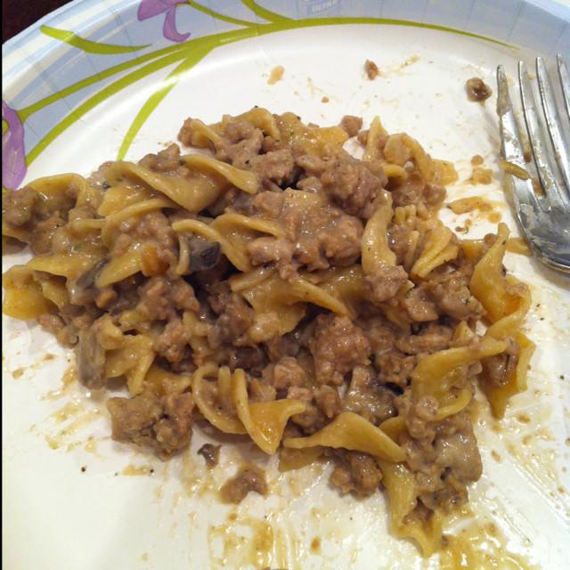 Healthy Ground Beef Stroganoff  Healthy Stroganoff