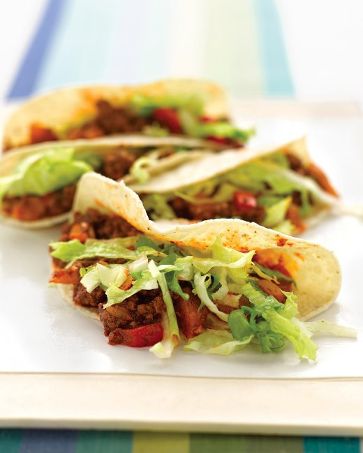 Healthy Ground Beef Tacos  20 Delicious And Healthy Snacks For Kids
