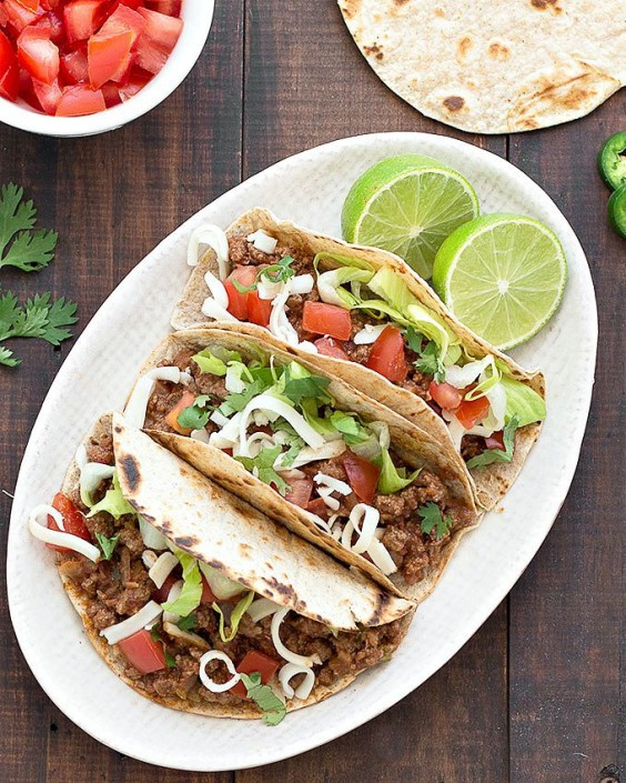 Healthy Ground Beef Tacos  Healthy Tacos 32 Recipes to Try Right Now
