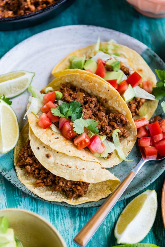 Healthy Ground Beef Tacos  The Best Turkey Tacos – Culinary Hill
